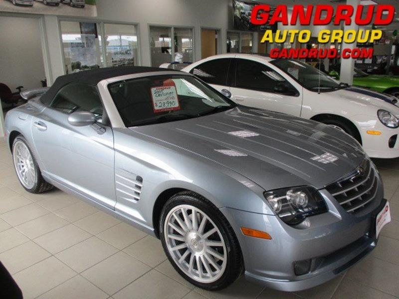 2006 chrysler crossfire srt6. 2005 chrysler crossfire srt6 for sale in green bay wi 2006 srt6