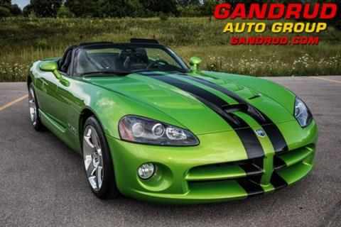 Dodge Vipers For Sale >> Used Dodge Viper For Sale In Wisconsin Carsforsale Com
