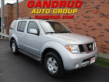 2006 Nissan Pathfinder for sale in Green Bay, WI