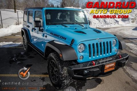 2017 Jeep Wrangler Unlimited for sale in Green Bay, WI
