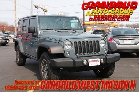 2014 Jeep Wrangler Unlimited for sale in Green Bay, WI