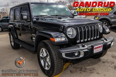 2018 Jeep Wrangler Unlimited for sale in Green Bay, WI