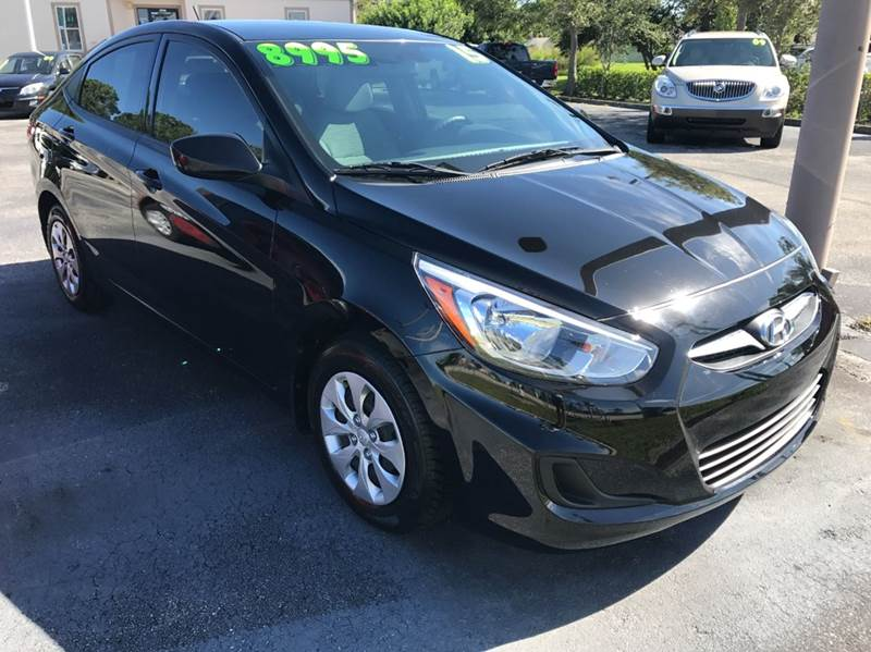 2015 Hyundai Accent GLS 4dr Sedan - Palm Bay FL