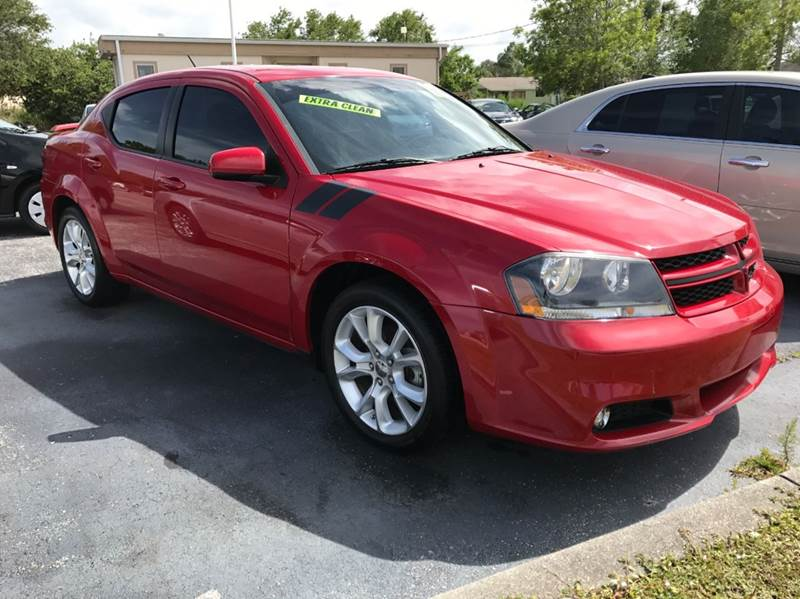 2012 Dodge Avenger R/T 4dr Sedan - Palm Bay FL