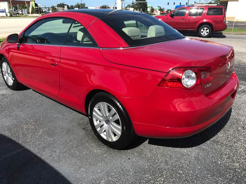 2008 Volkswagen Eos Turbo 2dr Convertible 6A - Palm Bay FL