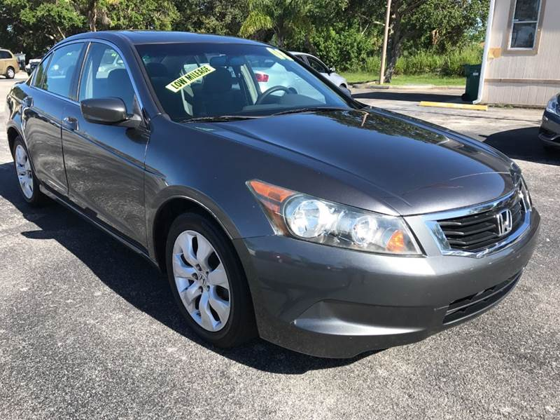 2008 Honda Accord EX 4dr Sedan 5A - Palm Bay FL