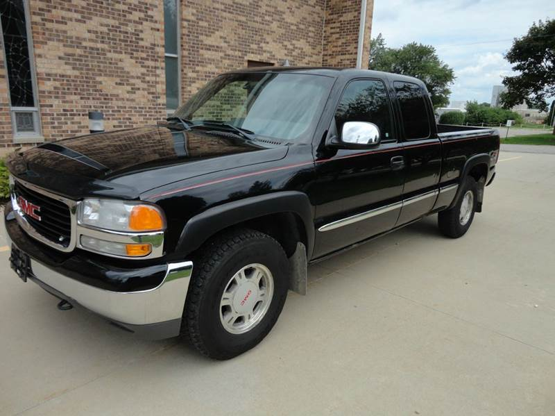 2001 gmc sierra 1500 4dr extended cab slt 4wd sb w onstar in clarence ia kinion auto sales. Black Bedroom Furniture Sets. Home Design Ideas