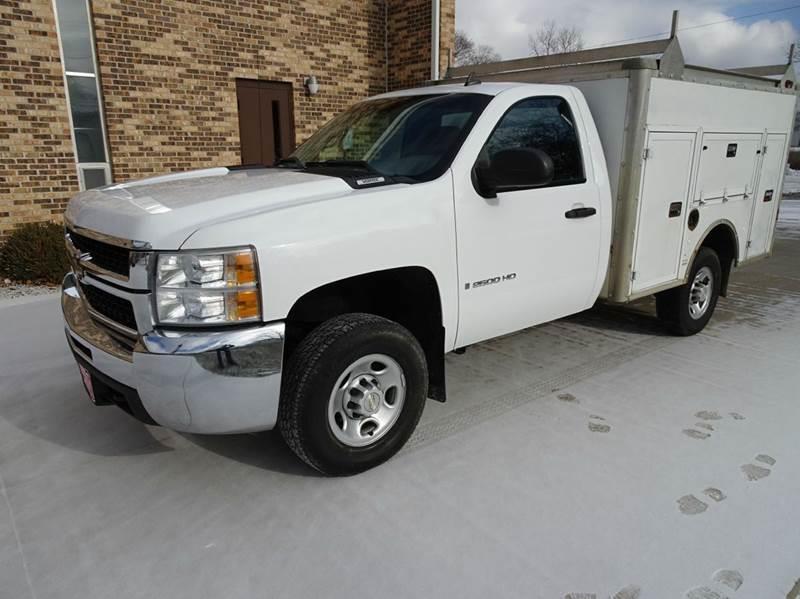 2008 chevrolet silverado 2500hd 4wd work truck 2dr regular cab lb in clarence ia kinion auto. Black Bedroom Furniture Sets. Home Design Ideas