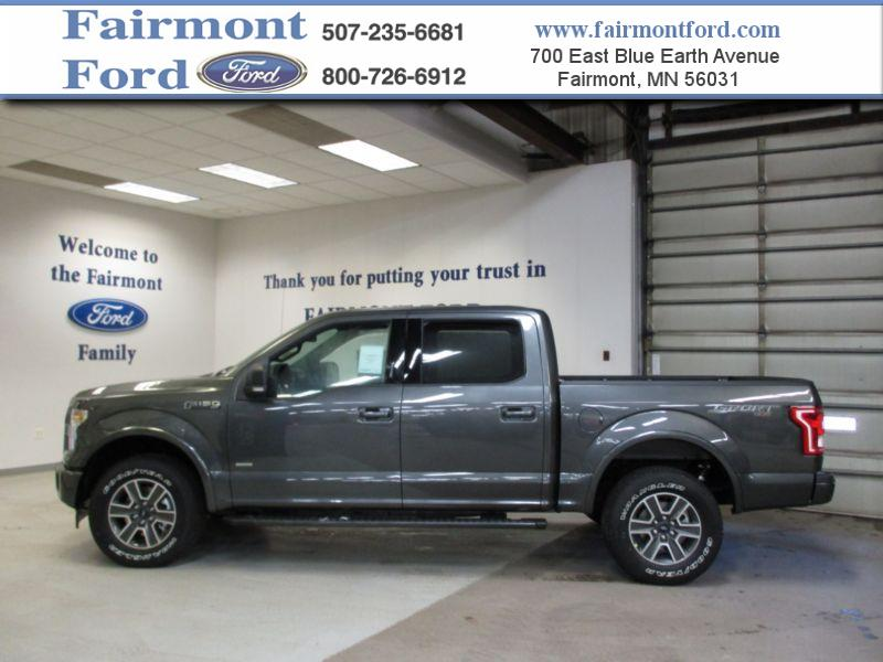 2017 ford f 150 4x4 xlt 4dr supercrew 5 5 ft sb in fairmont mn fairmont ford. Black Bedroom Furniture Sets. Home Design Ideas