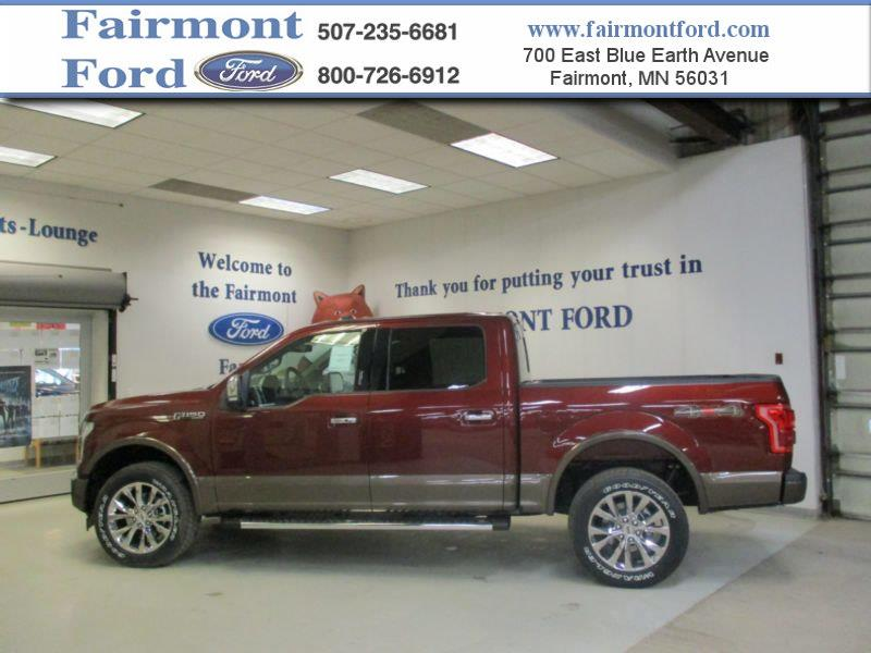 2017 ford f 150 4x4 lariat 4dr supercrew 5 5 ft sb in fairmont mn fairmont ford. Black Bedroom Furniture Sets. Home Design Ideas