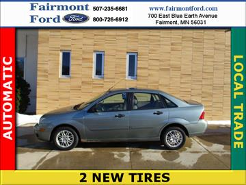 2005 Ford Focus for sale in Fairmont, MN
