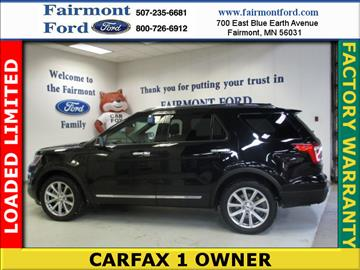 2016 Ford Explorer for sale in Fairmont, MN