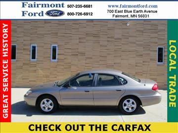 2006 Ford Taurus for sale in Fairmont, MN