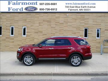 2017 Ford Explorer for sale in Fairmont, MN
