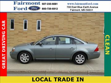 2007 Ford Five Hundred for sale in Fairmont, MN