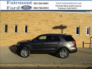 Fairmont ford used cars fairmont mn dealer for Militello motors fairmont mn