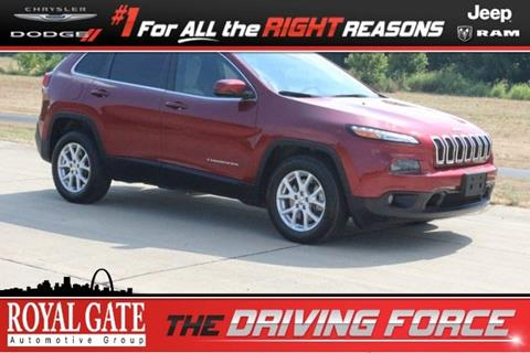 2015 Jeep Cherokee for sale in Columbia IL