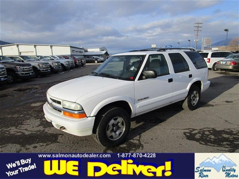 Chevrolet Blazer For Sale In Idaho