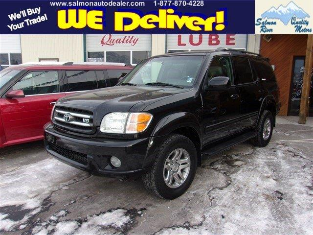2001 Toyota Sequoia Limited 4wd 4dr Suv In Salmon Id