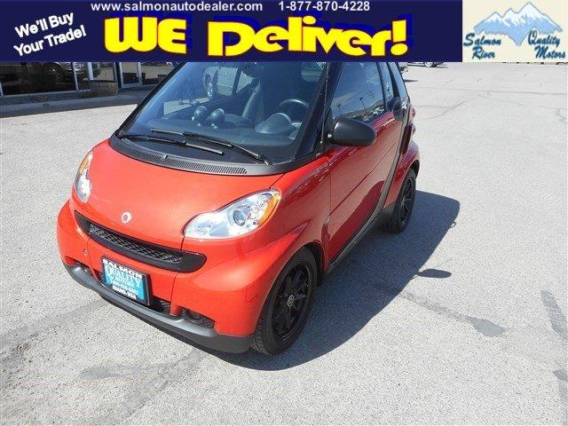 2008 Smart Fortwo Passion Cabrio 2dr Convertible In Salmon