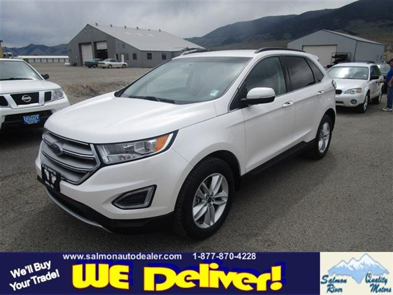 Ford Edge Awd Sel Dr Crossover Salmon Id