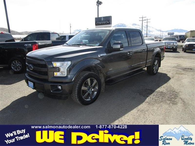 2015 Ford F 150 4x4 Lariat 4dr Supercrew 6 5 Ft Sb In