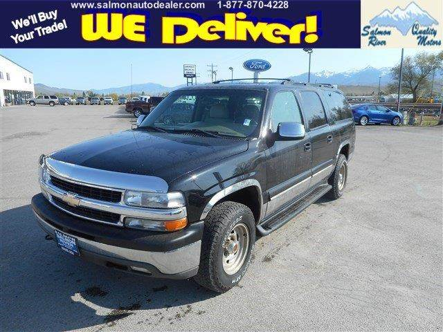 2001 Chevrolet Suburban Lt In Salmon Salmon Tendoy Quality
