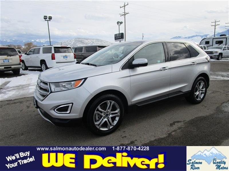 2017 ford edge awd titanium 4dr crossover in salmon id for Quality motors salmon idaho