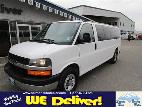 2016 Chevrolet Express Passenger for sale in Salmon, ID