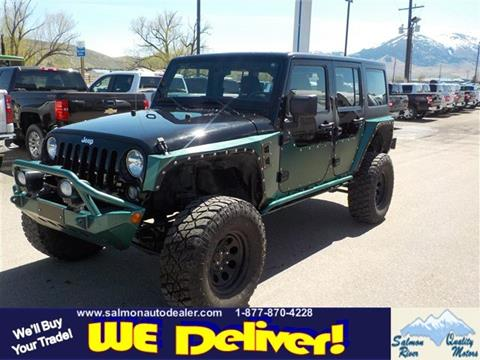 2014 Jeep Wrangler Unlimited for sale in Salmon, ID