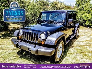2008 Jeep Wrangler Unlimited for sale in Watauga, TX