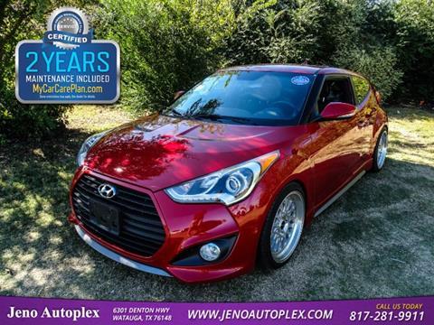 2014 Hyundai Veloster Turbo for sale in Watauga, TX