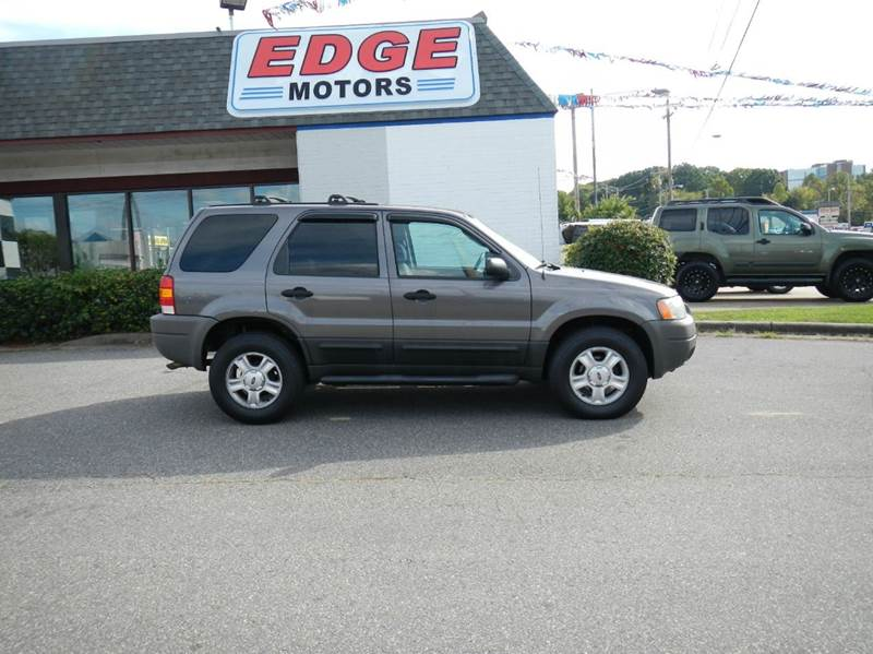 2004 ford escape xlt 4dr suv in mooresville nc edge motors