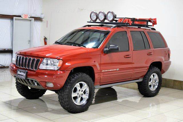2003 jeep grand cherokee overland 4wd 4dr suv in houston tx roadsters auto. Black Bedroom Furniture Sets. Home Design Ideas