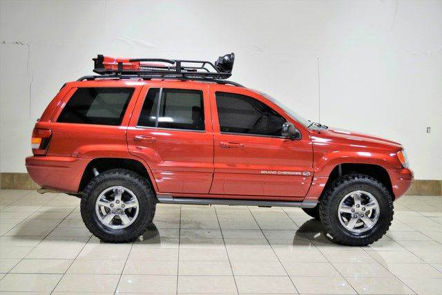 2003 jeep grand cherokee overland 4wd 4dr suv in houston. Black Bedroom Furniture Sets. Home Design Ideas