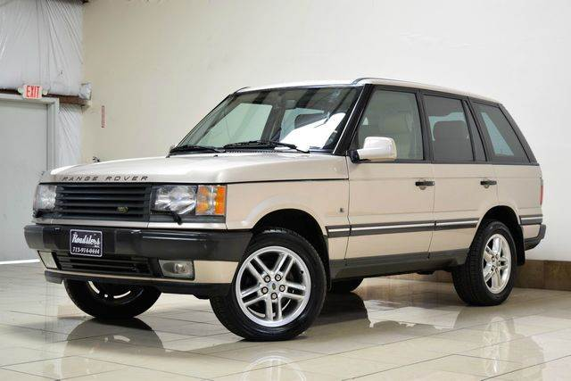 2002 land rover range rover awd 4 6 hse 4dr suv in houston. Black Bedroom Furniture Sets. Home Design Ideas