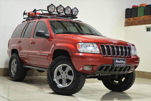 2002 jeep grand cherokee 4dr overland 4wd suv in houston. Black Bedroom Furniture Sets. Home Design Ideas
