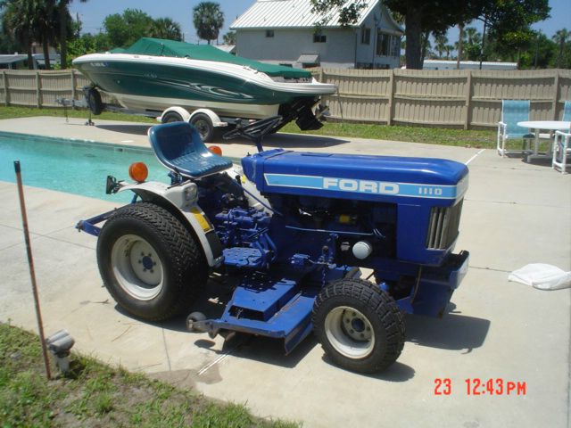 1995 Ford 1110 TRACTOR