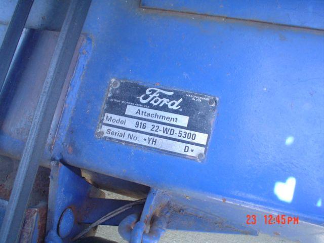 1995 Ford 1110 TRACTOR  - PORT ORANGE FL