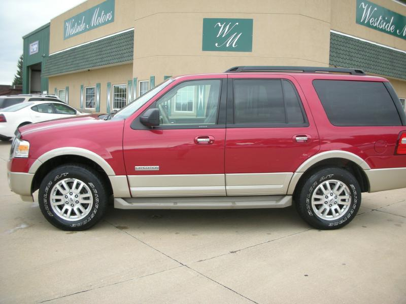 2007 ford expedition eddie bauer 4dr suv 4x4 in orange