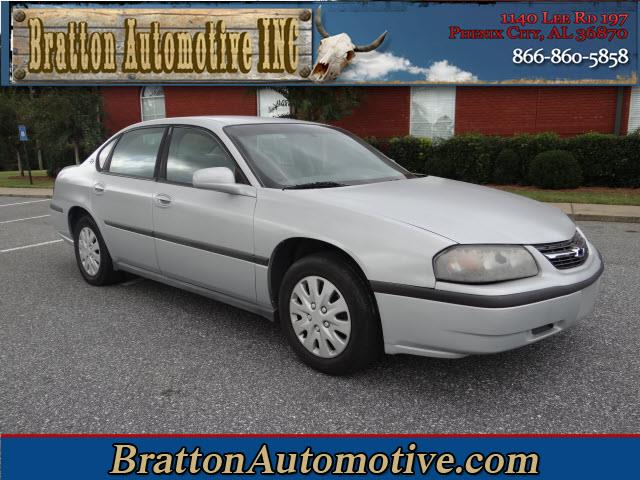2002 Chevrolet Impala near Phenix City AL 36870 for $3,500.00