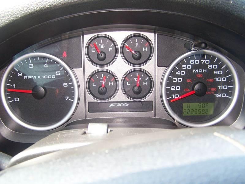 2004 Ford F-150 4dr SuperCab FX4 4WD Styleside 5.5 ft. SB - Elizabethton TN