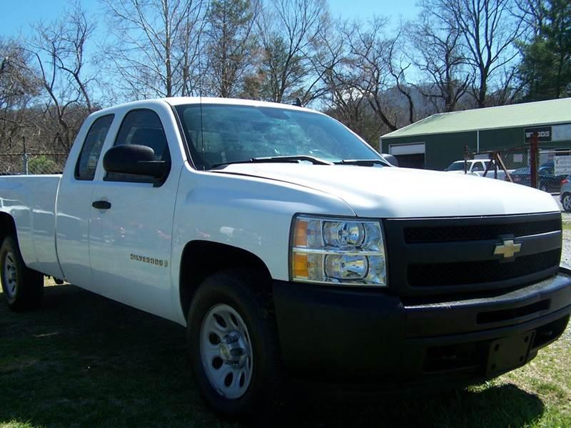 2009 Chevrolet Silverado 1500 4x4 Work Truck 4dr Extended Cab 8 ft. LB - Elizabethton TN