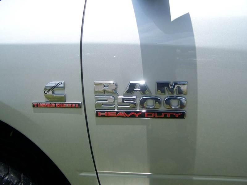 2013 RAM Ram Pickup 2500 4x4 Tradesman 4dr Crew Cab 6.3 ft. SB Pickup - Elizabethton TN