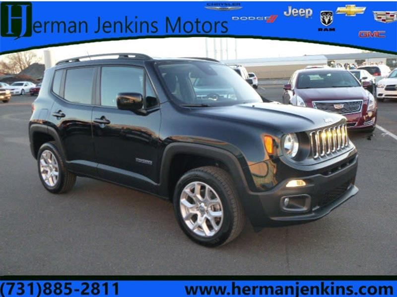 2017 Jeep Renegade 4x4 Laude 4dr SUV In Union City TN - Herman ...