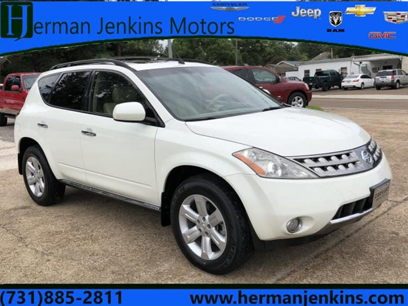 2007 Nissan Murano >> 2007 Nissan Murano Sl 4dr Suv In Union City Tn Herman Jenkins