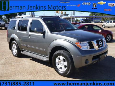 2005 Nissan Pathfinder for sale in Union City, TN