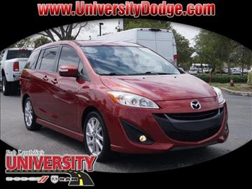 2015 Mazda MAZDA5 for sale in Davie, FL