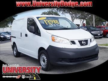 2013 Nissan NV200 for sale in Davie, FL