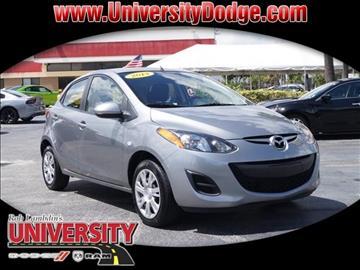 2014 Mazda MAZDA2 for sale in Davie, FL